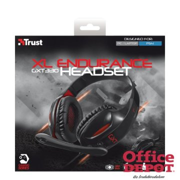 Trust GXT 330 XL Endurance jack Gamer headset