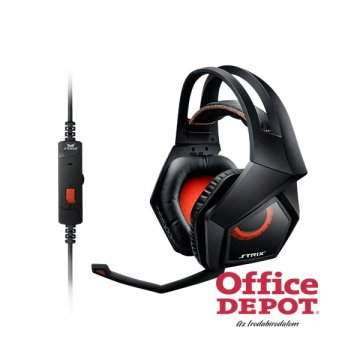 ASUS STRIX 2.0 Fekete Jack Gamer headset