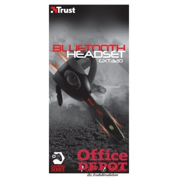 Trust GXT 320 Bluetooth gamer headset
