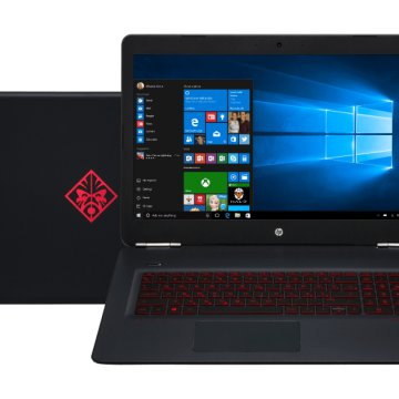 "Omen 17 gaming notebook X5X90EA (17,3"" Full HD IPS/Core i7/16GB/256GB SSD+1TB HDD/ GTX 965M 4GB)"