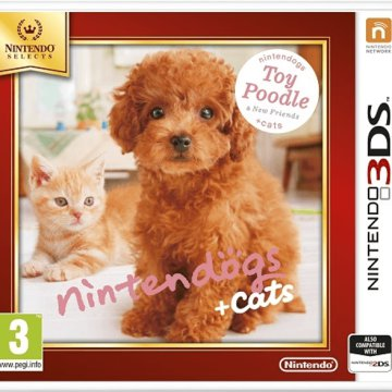 Nintendogs+Cats-Toy Poodle&new Friends Select (Nintendo 3DS)