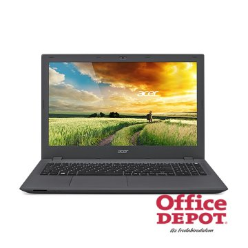 "Acer Aspire E5-573G-35U3 15,6""/Intel Core i3-5005U 2,0GHz/4GB/500GB/DVD író/fekete notebook"