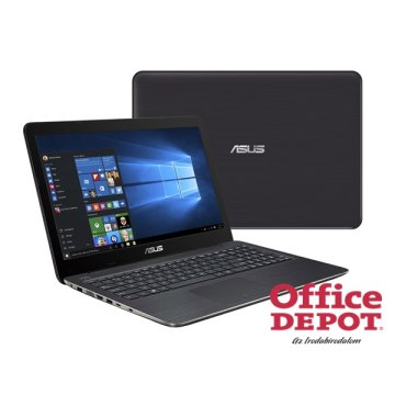 "ASUS VivoBook X556UQ-DM209D 15,6"" FHD/Intel Core i7-6500U/8GB/1TB/GeForce 940MX 2GB/DVD író/sötétbarna notebook"