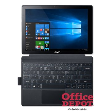 "Acer Switch Alpha 12 SA5-271-59TU 12"" touch/Intel Core i5-6200U 2,3GHz/8GB/512GB/Win10/Acélszürke 2in1 tablet"