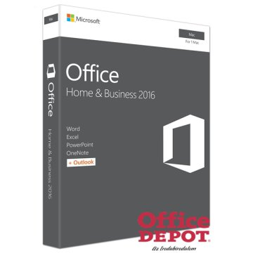 Microsoft Office 2016 MAC Home & Business ML ENG szoftver