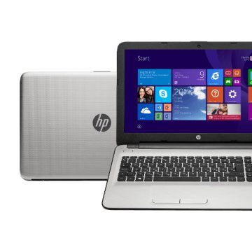 "15-AC004NH ezüst notebook N3W17EA (15,6""/Core i5/4GB/1TB/R5 M330 2GB VGA/Windows 8.1)"
