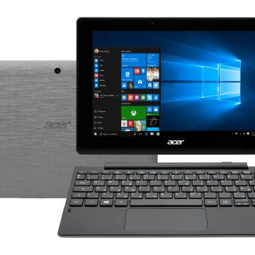 "Aspire Switch 10 E fekete/szürke 2in1 eszköz NT.MX3EU.003 (10,1""/Atom/2GB/64/Windows 10)"