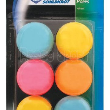 Donic Color ping-pong labda, 6 db