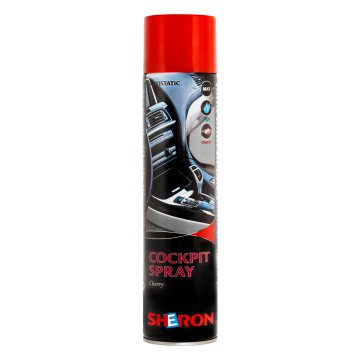 SHERON COCKPIT SPRAY CHERRY MATT    500ML