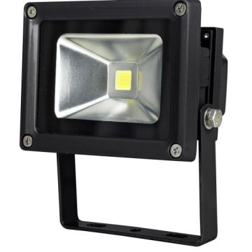 CHIP LED REFLEKTOR 10W 750LM IP44   6500K FEKETE 50000H (296481)