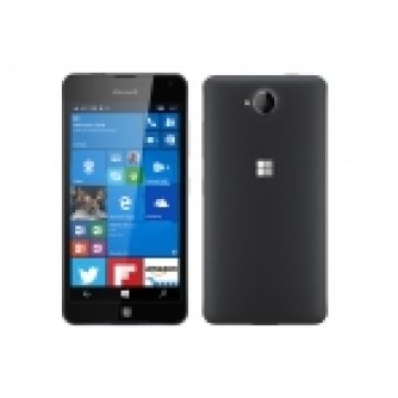 MICROSOFT 650 DS LUMIA, BLACK DARK SILVER