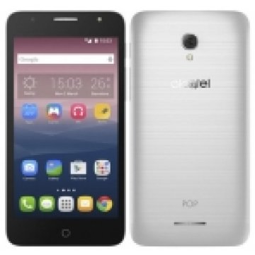 ALCATEL 5056D POP4 PLUS, METAL SILVER