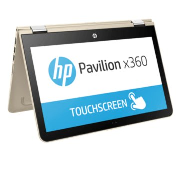 "Pavilion x360 arany notebook X5C60EA (13,3"" Full HD IPS/Core i3/4GB/500GB + 8GB SSHD/Windows 10)"