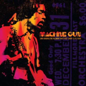 Machine Gun: The Fillmore East 12/31/1969 (CD)