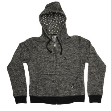 BASIC SWEAT HOODY GRAY MARL