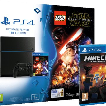 PlayStation 4 1TB + Lego Star Wars: The force awakens