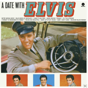 A Date with Elvis (Vinyl LP (nagylemez))