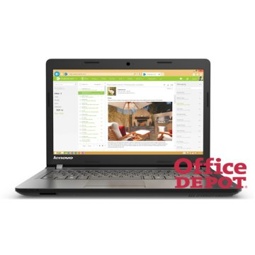 "LENOVO 100 80QQ00EXHV 15,6""/Intel Core i3-5005U/4GB/1000GB/DVD író/fekete notebook"