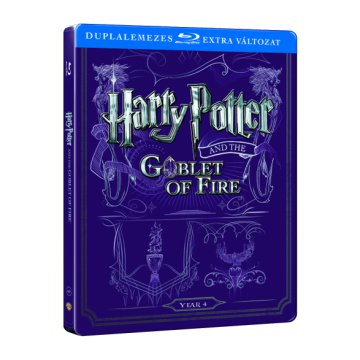 Harry Potter és a Tűz serlege (Steelbook) Blu-ray