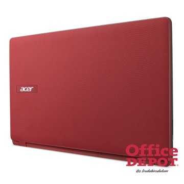"Acer Aspire ES1-571-33BB 15,6""/Intel Core i3-5005U 2,0GHz/4GB/1TB/DVD író/piros notebook"