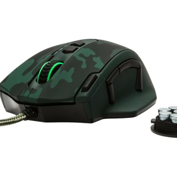 GXT 155C zöld gaming mouse (20853)