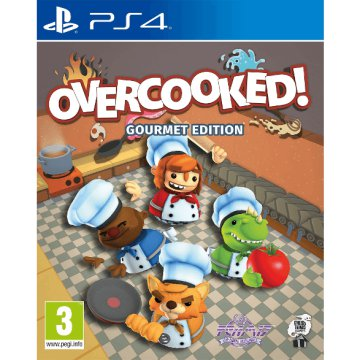 Overcooked: Gourmet Edition (PlayStation 4)