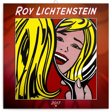 Falinaptár Creation from 60s Roy Lichtenstein 6097