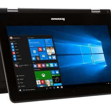 "IdeaPad Yoga 300 80M1007H fekete (11,6""/Celeron/2GB/500GB/Windows 10)"