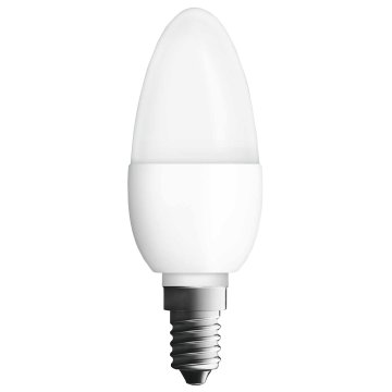 LED VALUE GYERTYA 40 E14 MATT       470LM 6W       299923