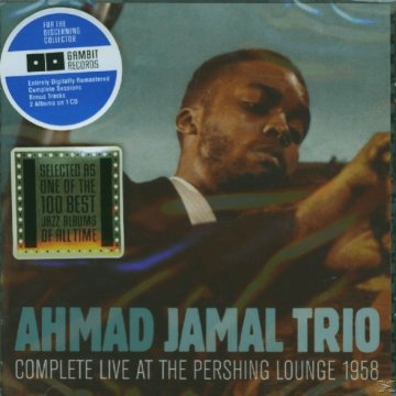 Complete Live at the Pershing Lounge 1958 (CD)