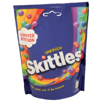 Skittles Dark Side cukorka (174 g)