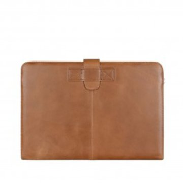"Decoded - Leather Slim MacBook Pro Retina 15"" tok - Barna"