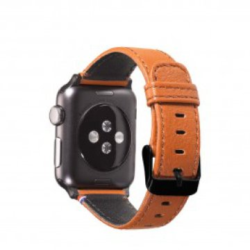 Decoded - Apple Watch 38mm bőrszíj - Barna