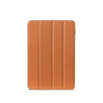 Decoded - Leather Slim iPad mini 4 tok - Barna