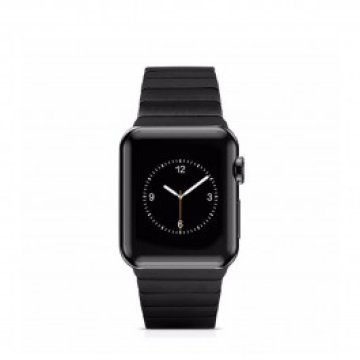 HOCO - Link Edition láncszemes fémszíj Apple Watch 38mm - Fekete