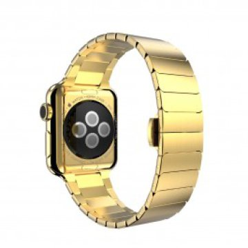 HOCO - Simple Edition 316L Stainless Steel Apple Watch 42mm szíj - Arany