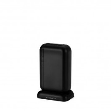 Just Mobile - TopGum 6000mAh Power Pack - Fekete