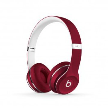 Beats by Dr. Dre - Solo2 fejhallgató (Luxe Edition) - Piros
