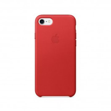 Apple - iPhone 7 bőrtok - (PRODUCT)RED