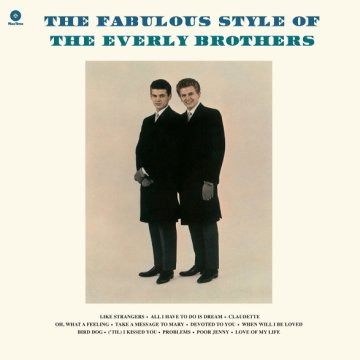 The Fabulous Style of the Everly Brothers (Vinyl LP (nagylemez))