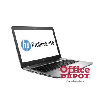 "HP ProBook 450 G4 Y8A15EA 15,6""FHD/Intel Core i5-7200U 2,5GHz/4GB/500GB/DVD író/Windows 10 Prof notebook"