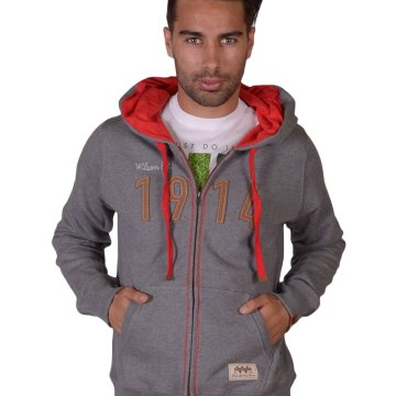 M FULL ZIP SWEATSHIRT