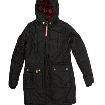 WOMEN PARKA BLACK