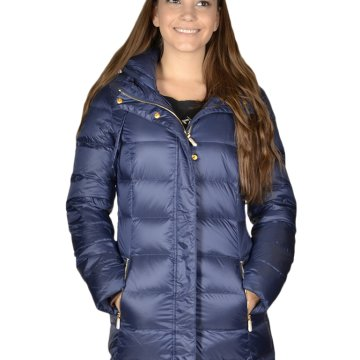 WOMAN WOVEN DOWN JACKET