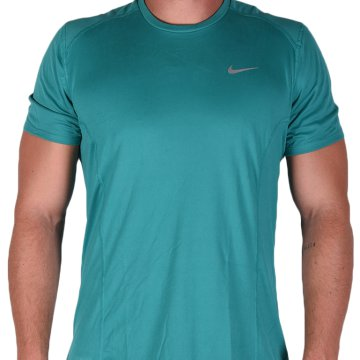Mens Nike Dry Miler Running Top