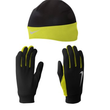 NIKE DRI-FIT RUNNING BEANIE/GLOVE
