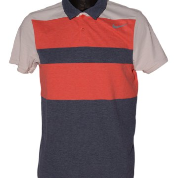 DR-FIT TOUCH STRIPE POLO