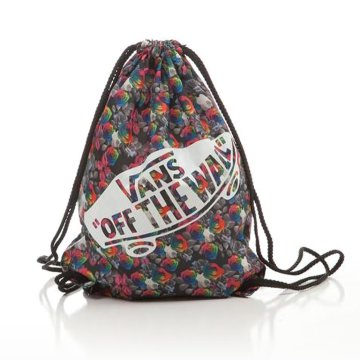 W Benched Bag Rainbow Floral