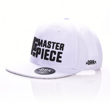 LIFEISMYSNAPBACK WHITE