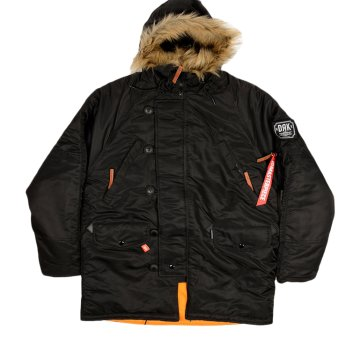 MEN PARKA BLACK